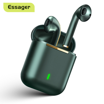 Essager J18 Pro Wireless Headphones With Microphone Stereo TWS Bluetooth 5.0 Earphones Ear buds Handfree Sport Headset EarBuds 1