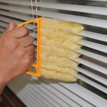 Janela portátil escova limpa condicionador de ar duster com lavável microfibra cego escova sujeira ferramenta limpeza ferramentas cozinha