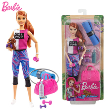 Original Fitness Barbie Doll Barbie Accessories Joints Move Yoga Dolls Barbie Clothes Juguetes Doll