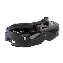Очки SKYZONE SKY02X 5,8 ГГц, 48 каналов, FPV, Поддержка 2D/3D, HDMI, с вентилятором, DVR, камера для радиоуправляемых гоночных дронов, модель самолета
