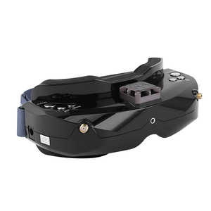 Image 1 - SKYZONE SKY02X 5.8Ghz 48CH FPV Goggles Support 2D/3D HDMI Head Tracking With Fan DVR Camera For RC Racing Drone Model Aircraft