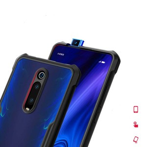 Image 2 - Hot Xundd Luxury Clear Case for Xiaomi Mi 9t / Mi 9t Pro Ring Case Shockproof Airbags Back Cover for Redmi K20 Pro Black  чехол