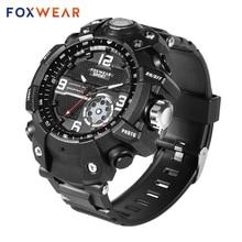 Fox 10 reloj inteligente deportivo con cámara HD 1080P, grabación de vídeo, conexión Wifi, TP, 32GB de memoria, IP67, resistente al agua, antorcha Led a prueba de polvo