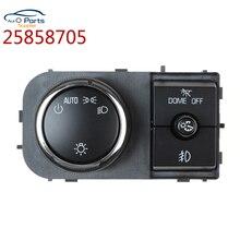 Yeni 25858705 kafa lamba ışığı gösterge paneli Dimmer anahtarı 07 13 Chevrolet Silverado Suburban GMC Sierra Yukon