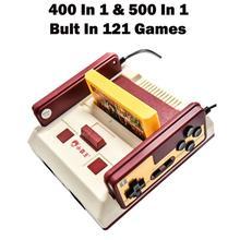 새로운 Subor D99 비디오 게임 콘솔 클래식 가족 TV 비디오 게임 콘솔 플레이어 400 IN1 + 500 IN1 게임 카드
