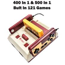 New Subor D99 Video Game Console Classic Family TV Video Games Consoles Player with 400 IN1+ 500 IN1 Games Cards(China)