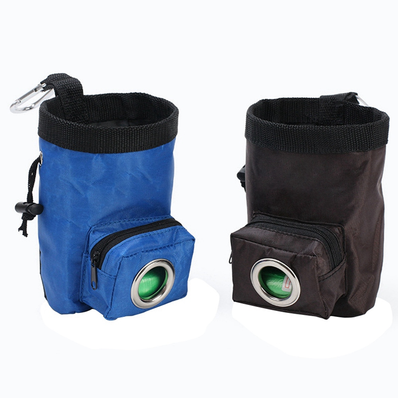 Сумка для тренировок собак, для питомцев, тренировочная сумка для прогулок, для собак, для улицы, переносная сумка для закусок, поясная сумка
