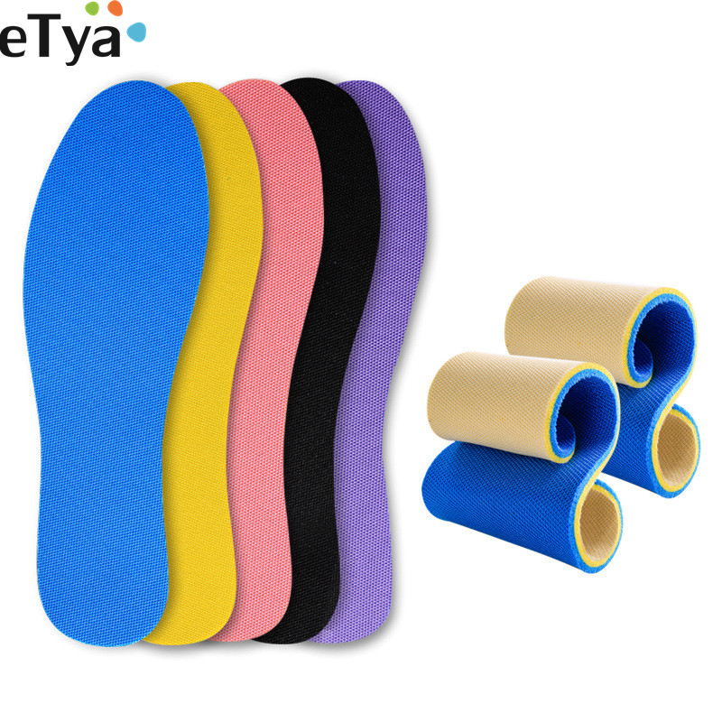 1 Pair Breathable Unisex Shoes Insoles Memory Foam Women Men Kids Sport Soft Shoes Insert Pad Cushion Shoes Accessories