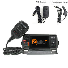 Walkie-talkie 4G-W2Plus, Radio de red 4G, Android 7,0, N60, funciona con Real ptt/Zello, con adaptador de CA y cable de cargador de coche