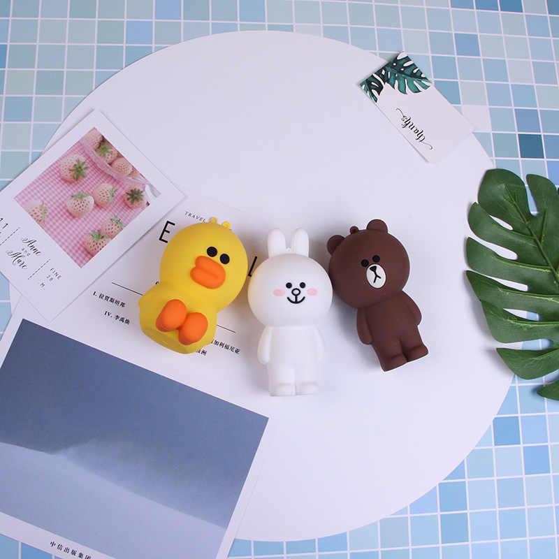 Q tio Mini 3D llavero monedero bolsas para niñas lindo niños monedero rosa conejo Bowknot accesorios para teléfono móvil decoración