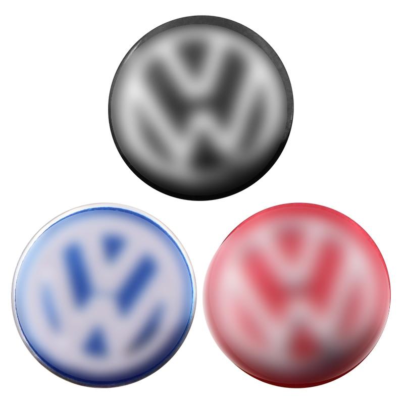 1PCS Car Key Sticker Remote Control Key Cover Decal For Volkswagen Polo Golf 3 4 5 6 7 B4 B5 B6 B7 B8 Car Accessories
