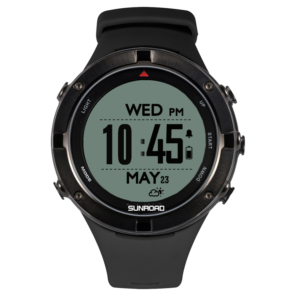 Outdoor Watch with GPS Heart Rate Triathlon Sports Watch Altimeter Barometer Watch polar watch image