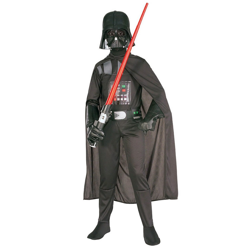 Star Wars Force Awakening Classic Children's Movie Character Darth Vader Halloween Game Cosplay Costume