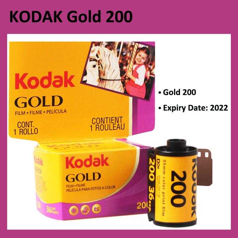KODAK GOLD 200 35 мм пленка 36 экспозиция в рулоне подходит для камеры M35 / M38 (Срок годности: 2022)