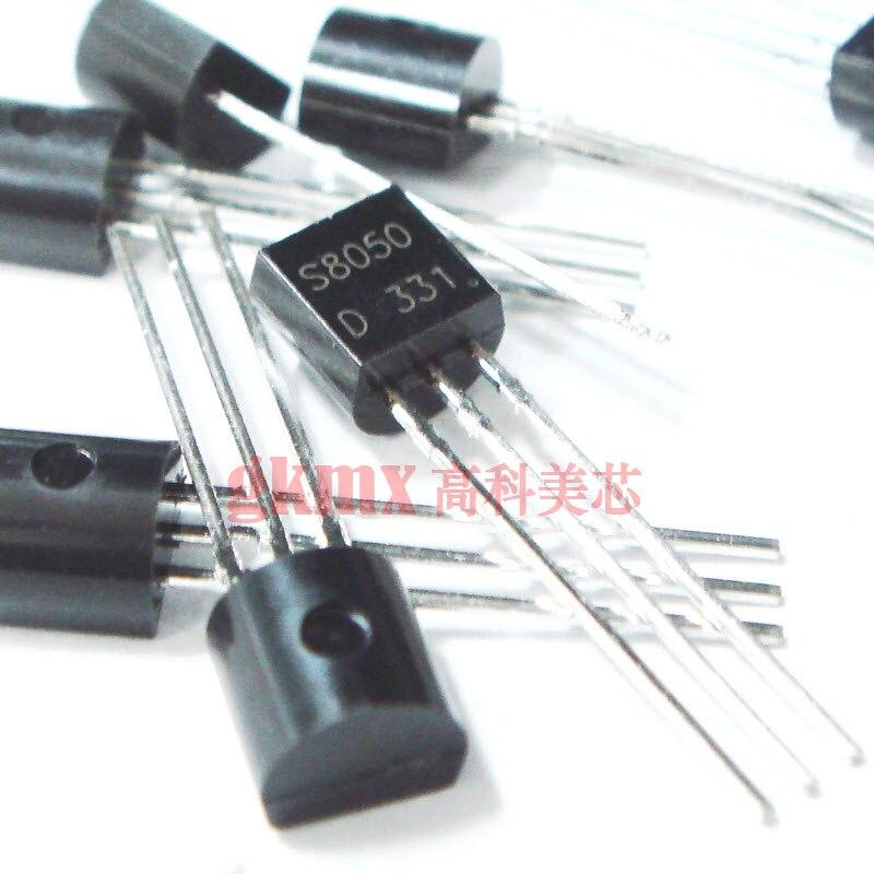 1000 шт. оригинальный аутентичный линейный транзистор S8050 S8050D TO-92 биполярный транзистор