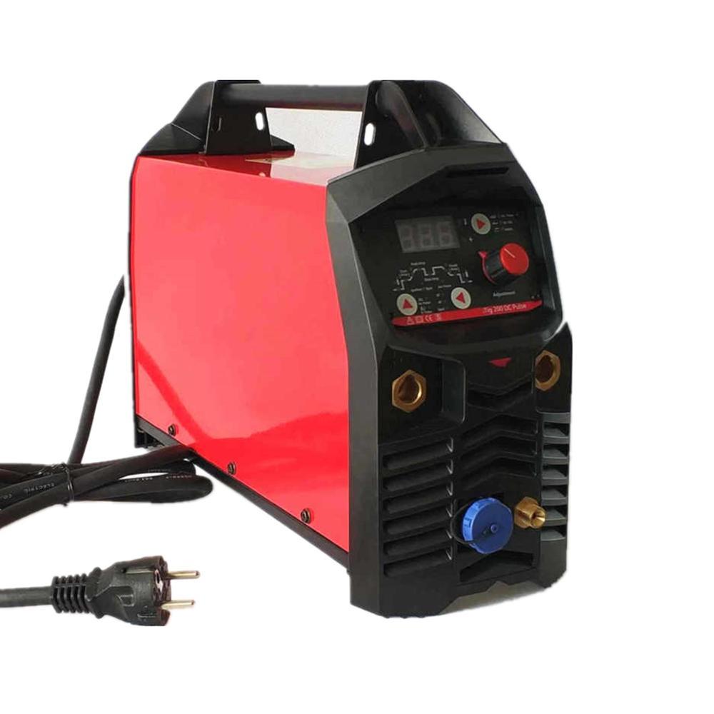 Image 3 - Professional Digital TIG 200A Pulse Welding Machine Hot Start HF Ignition Anti Stick Arc Force CE IGBT Inverter MMA TIG Weldertig 200ainverter welderwelding machine -