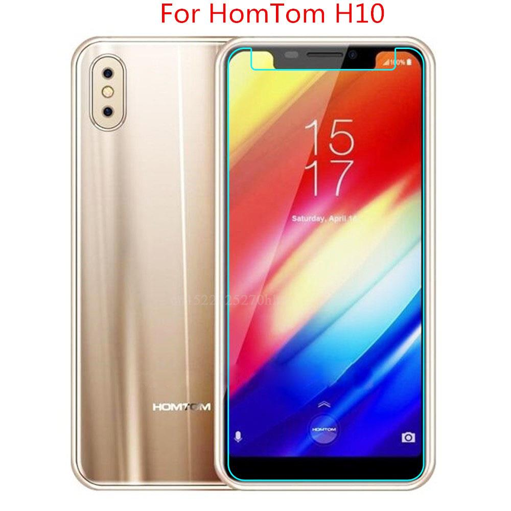 For <font><b>Homtom</b></font> H10 Tempered Glass 9H 2.5D Premium Screen Protector Film For <font><b>Homtom</b></font> H <font><b>10</b></font> Mobile Phone Protective Films image