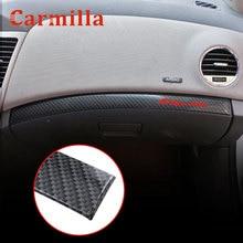 Carmilla ABS Interior Car Storage Box Glove Box Decoration Trim for Chevrolet Cruze Sedan Hatchback LHD 2009 - 2015 Stickers