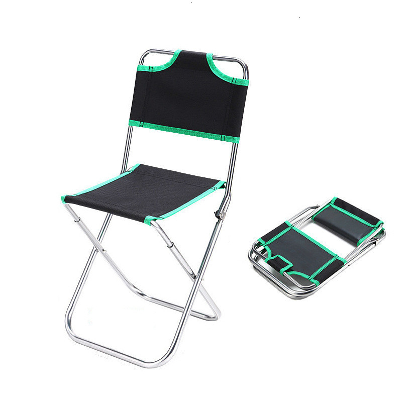 Outdoor Lightweight Camping Fishing Chair Portable Folding Garden Furniture Foldable Picnic Party Beach Chairs With Bag Sillas
