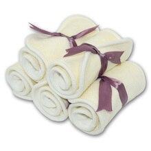 Insert de couche culotte en fibre de bambou 35x13 cm, coussin pour tous les motifs Happy flûte, housse de couche culotte de poche, taille unique