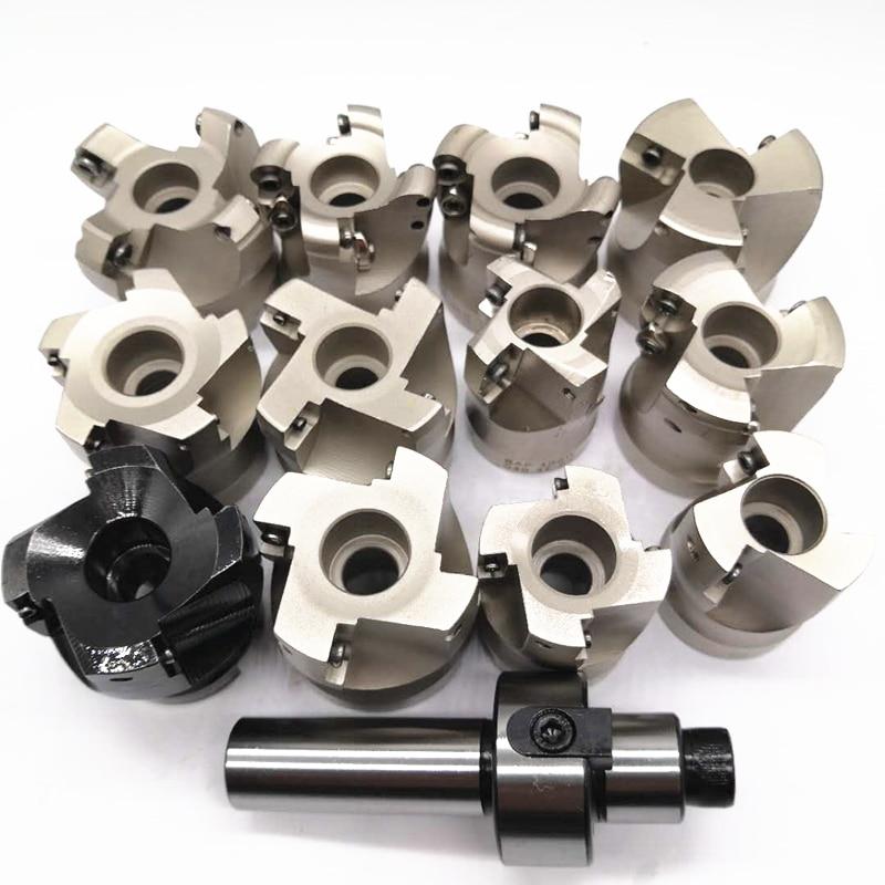 New C12 FMB22 C16 FMB22 C20 FMB22 Shank KM12 EMR5R EMR6R BAP300R 400R 50mm Face Milling CNC Cutter + 10pcs APMT1604 1135  SEKT