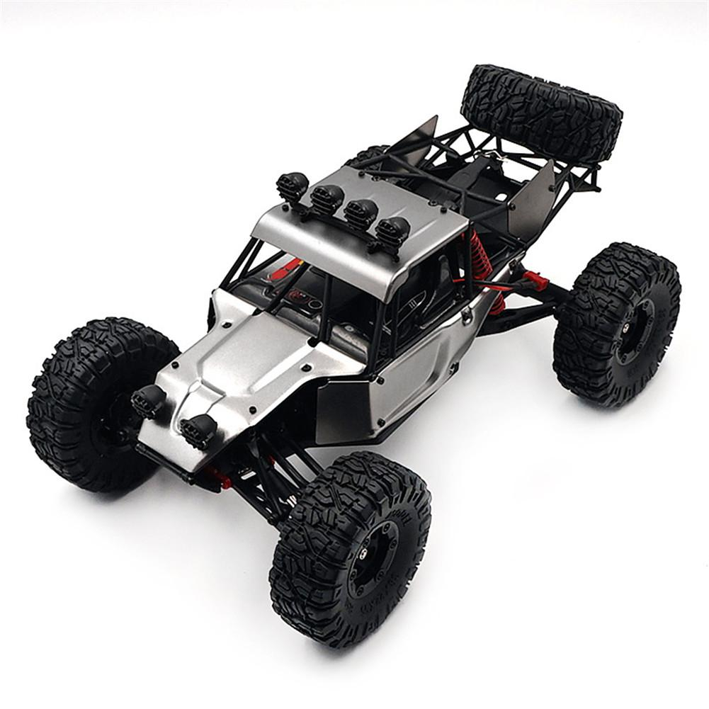 FY03H 1/12 2.4G 4WD Brushless Rc Car Metal Body Shell Desert Off road Truck RTR Toy