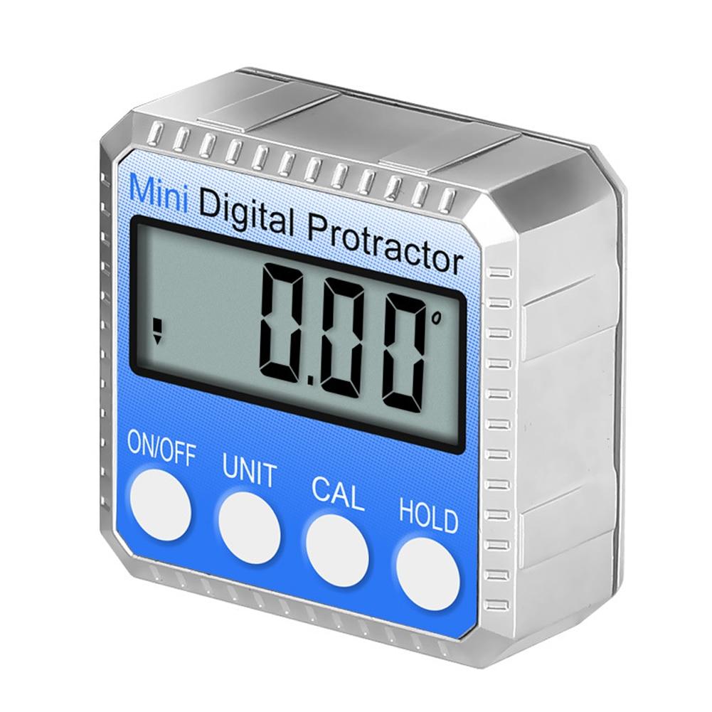 Цифровой мини-транспортир 360 °, угломер высокой точности, электронный Гониометр, инклинометр, уровень, угломер, измерительный ящик
