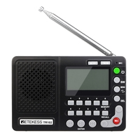 Retekess TR102 Portable Radio FM/AM/SW World Band Receiver MP3 Player REC Recorder with Sleep Timer FM Radio Recorder