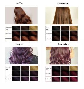Image 2 - Фирменный шампунь SUIMEI 500 мл с экстрактом органического женьшеня, постоянный шампунь для черных волос без побочного эффекта, быстрая краска для волос против белых волос