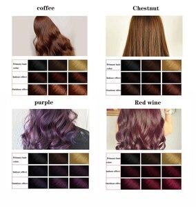 Image 2 - SUIMEI shampooing à base de Ginseng organique Permanent, sans effet secondaire, teinture pour cheveux noirs, Anti coloration rapide, 500ML