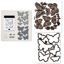 Butterfly Metal Cutting Dies and Stamps For Scrapbooking Practice Hands-on DIY Album Card Handmade 2021 New