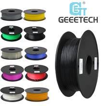Geeetech 1 rolo/1kg 1.75mm pla filamento embalagem a vácuo no exterior armazéns várias cores para impressora 3d navio rápido