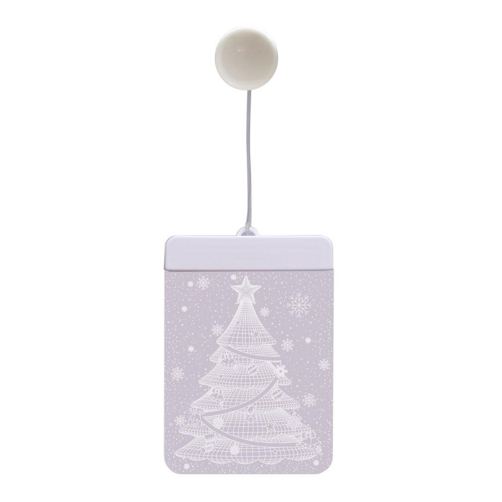 Led Christmas Light Room Decoration Christmas Day Decoration Lantern Star Light 3D Shape Curtain Ice Strip Light String