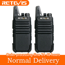 2pcs Mini Walkie Talkie Retevis RT22 2W UHF 400-480MHz VOX Scan CTCSS/DCS Dustproof Ham Radio Hf Transceiver Handy 2 Way Radio