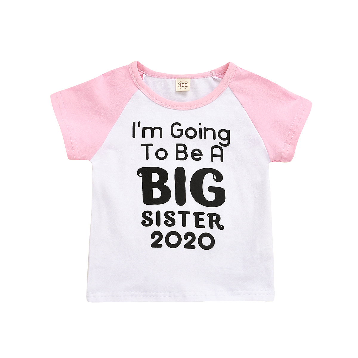 Toddler Kids Baby Boys Girls Big Brother Sister Summer Casual T-shirt Top Blouse