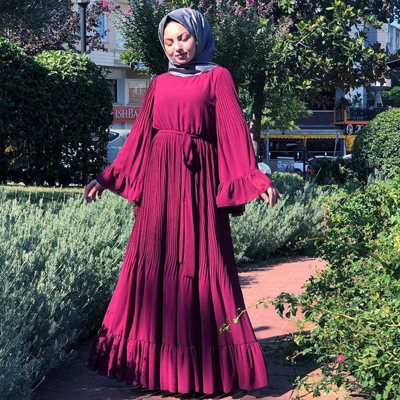 Abaya Dubai Muslim Hijab Dress Kaftan Abayas For Women Jilbab Caftan Islamic Prayer Clothing Turkish Dresses Elbise Robe Femme