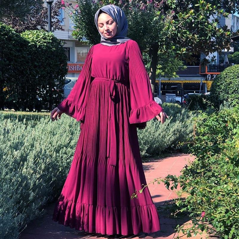 Abaya Dubai Muslim Hijab Dress Kaftan Abayas For Women Jilbab Caftan Islamic Prayer Clothing Turkish Dresses Elbise Robe Femme
