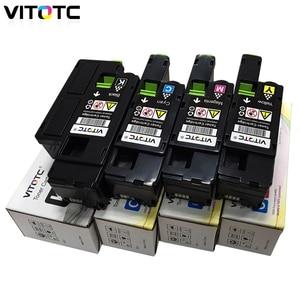 Image 5 - 4pcs Toner Cartridge Compatible For Fuji Xerox CP115w CP116w CP225w CM115w CM225w CM225fw Laser Printer Toner With Reset Chips