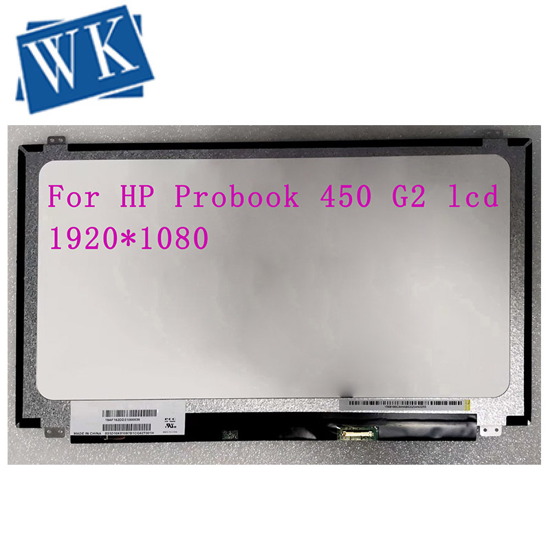 FHD IPS 1920X1080 For HP Probook 450 G2 Lcd Screen LED Display Slim 30pins Replacement Panel