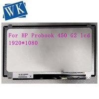 FHD IPS 1920X1080 dla HP Probook 450 G2 lcd wyświetlacz led Slim 30 szpilki panel zamienny w Ekrany LCD do laptopów od Komputer i biuro na