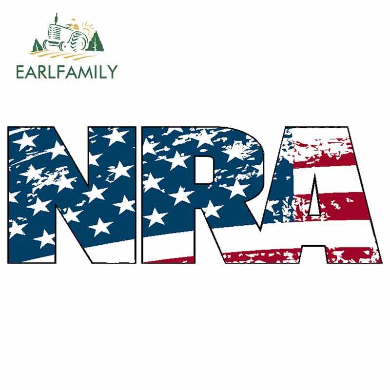 NRA National Rifle Association Gun Rights 2nd Amendment Vinyl Sticker Decal USA