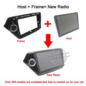 "Image 4 - HANG XIAN 2 din Car radio for 9"" 10.1"" universal interchangeable car dvd player GPS navigation car accessories of autoradio"