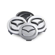4pcs/lot 60mm Car Wheel Center Hub Caps Rim Hubcap Badge Covers For Mazdas 5 6 323 626 RX8 7 MX3 MX5 Atenza Axela