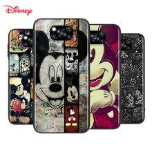 Disney Mickey Mouse dla Xiaomi Poco X3 NFC M2 X2 F2 F3 C3 M3 F1 Pro Mi grać Mix 3 A3 A2 A1 6 5 Lite miękki futerał na telefon