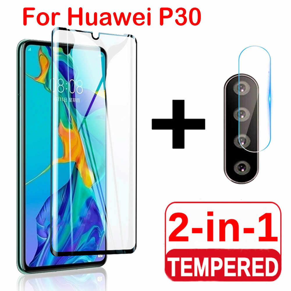 2 in 1 Protector Film For Huawei P30lite P30 Honor 9X max 20lite 20Pro Camera lens Film Protective Glass For Huawei P20lite 2019