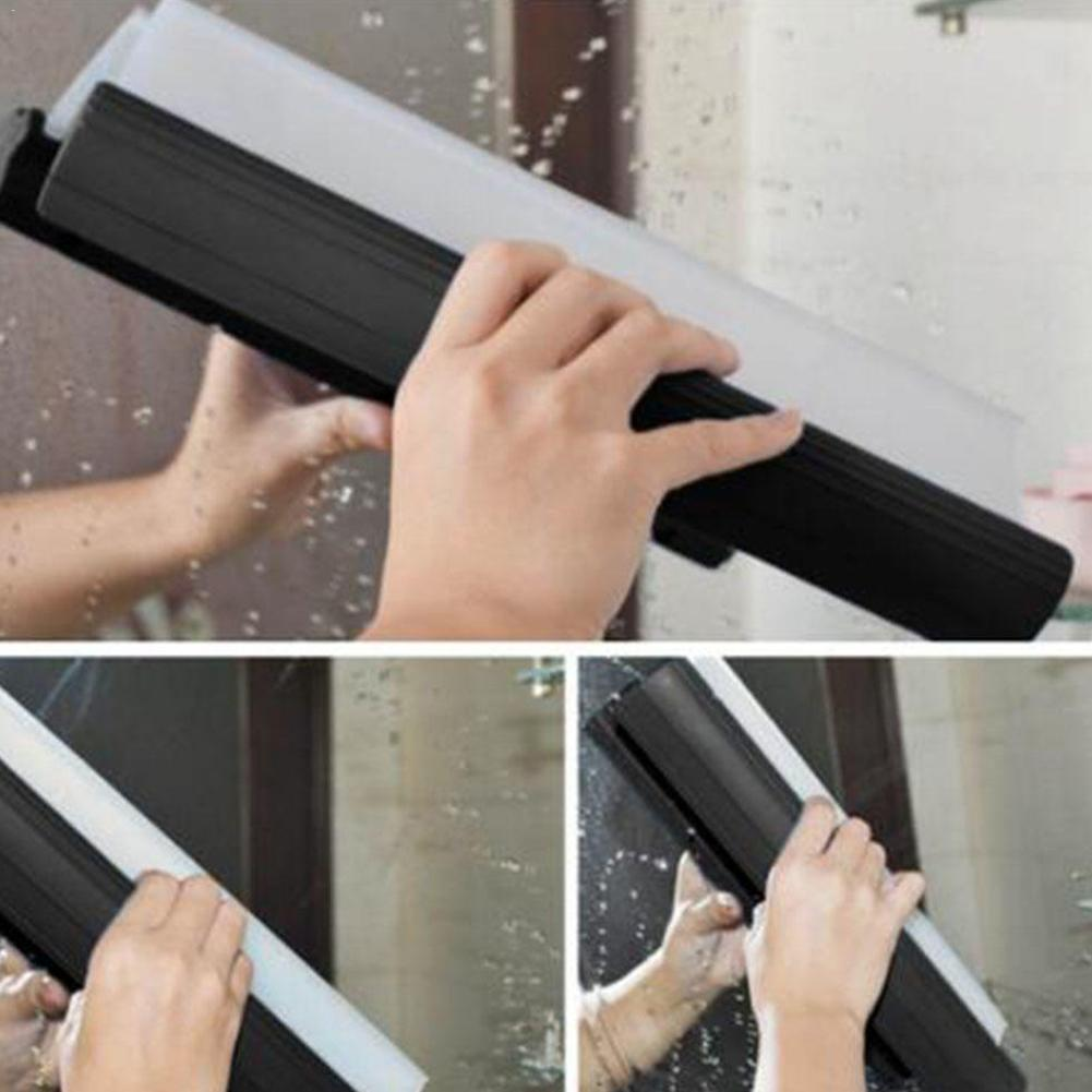 Car Water Windshield Wiper Soft Silicone Automobile Scraper Washing Tools Car Tool Cleaning Cleaning Window Water Car Wiper L1T4