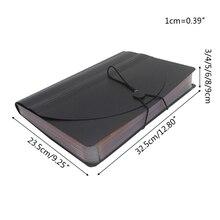 13/24/36/48/60/72 Pocket Classified File Folder Telescopic Standing A4 Organizer PXPA