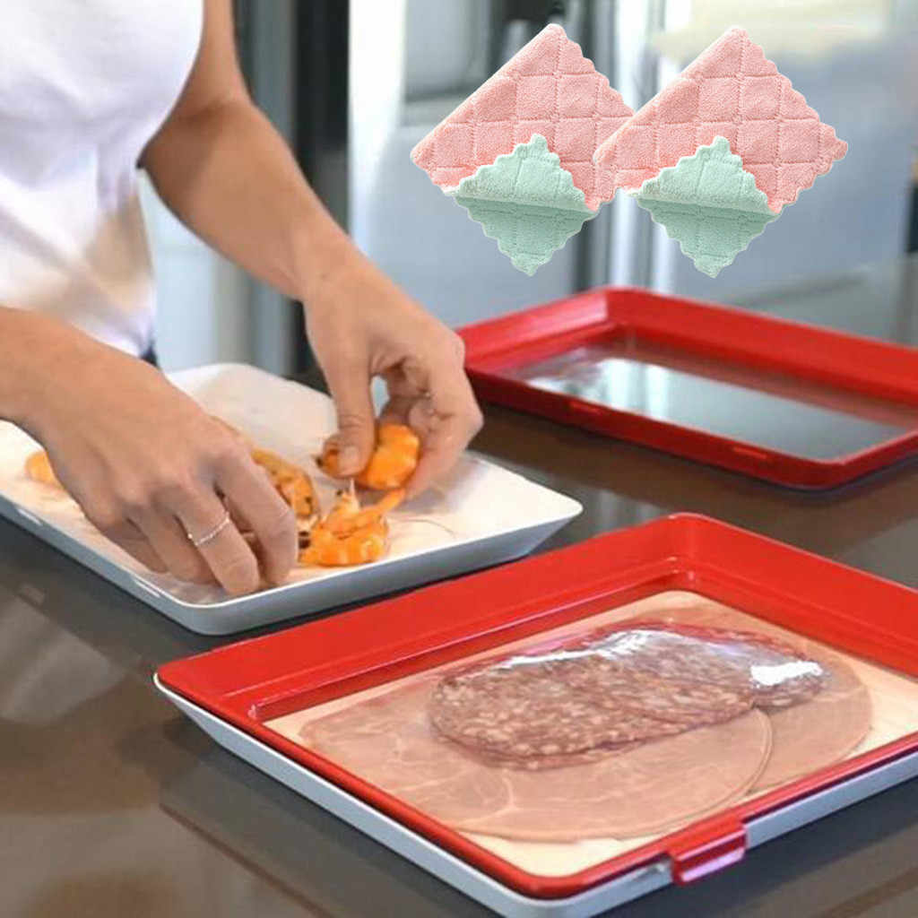 Creative Food Preservation Tray Healthy Kitchen Tools Storage Container Set