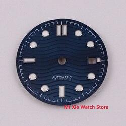 31mm Adjust ETA 2824 2836 MIYOTA series 82 movement black/gray/blue/silver white sterial Watch dial