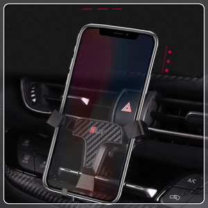 Image 1 - For Toyota C HR CHR 2016 2017 2018 2019 Car Air Vent Mount Adjustable Phone Holder Stand for Cell Mobile Phone Stable Cradle